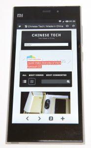 Xiaomi Mi3 Display