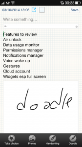 Color OS Notes App
