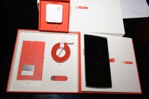 OnePlus One Packaging and Accessories