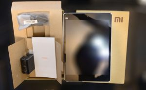 MiPad Packaging and Accessories